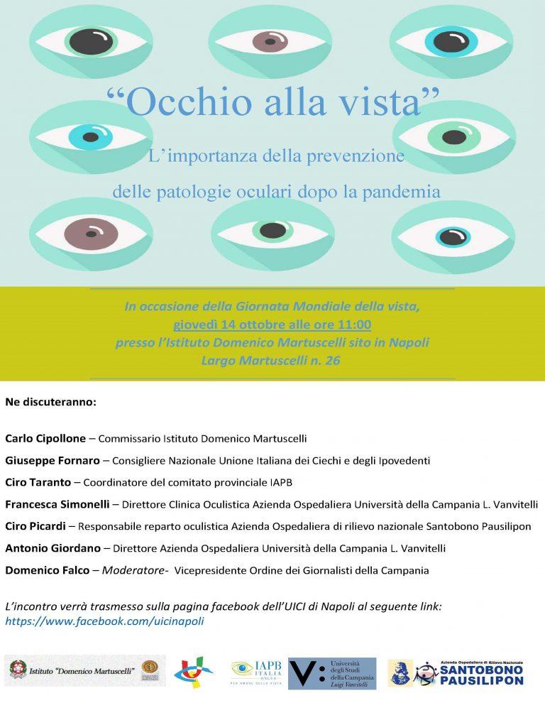 locandina - Occhio alla vista